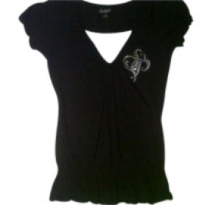 South Pole Collection Top Black