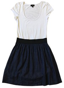 Aritzia short dress White Blue on Tradesy