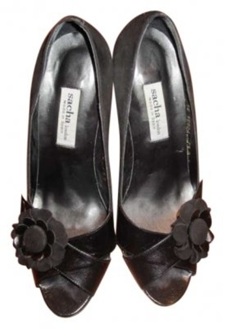 Sacha London Black Pumps Size US 7.5 Sacha London Black Pumps Size US 7.5 Image 1