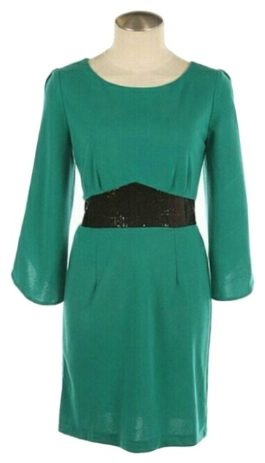 Fashionette Style Boutique Emerald Green Above Knee Short Casual Dress Size 8 (M) Fashionette Style Boutique Emerald Green Above Knee Short Casual Dress Size 8 (M) Image 1