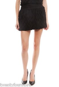 T-Bags Los Angeles Crochet Skirt Black