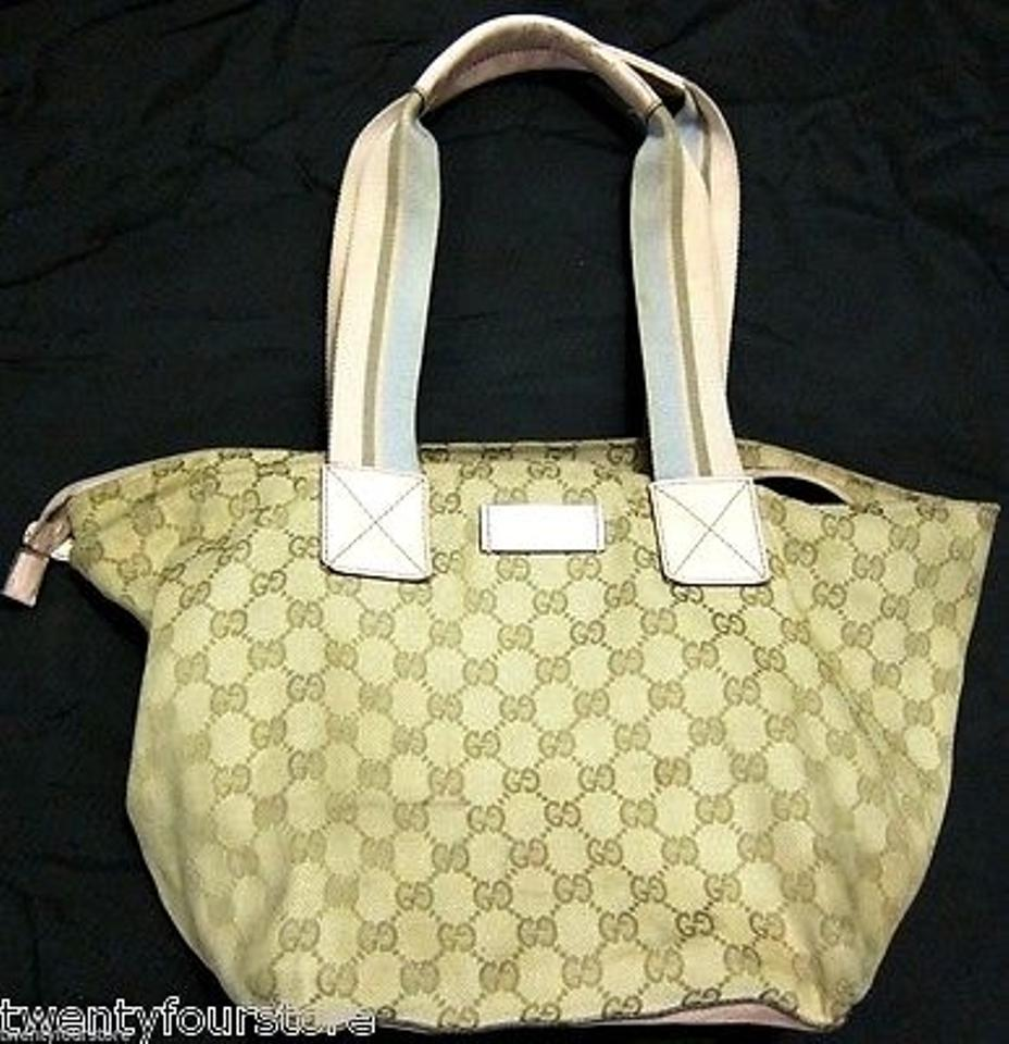 131230 gucci travel line tote bag - color combo - style 131230