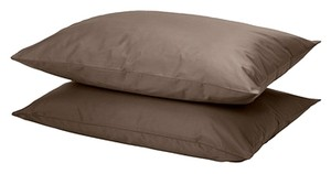 GASPA Sheet set, brown (Queen)