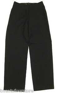Charles Chang Lima Straight Leg In Wool Silk Pants