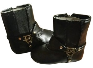 Michael Kors Toddler Leather Black Boots
