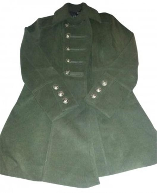 Preload https://item5.tradesy.com/images/forever-21-olive-long-sleeve-pea-coat-size-12-l-147689-0-0.jpg?width=400&height=650