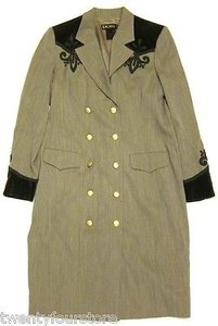 Escada Vintage Womens Jacket Coat