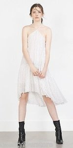 Zara short dress White Collection Flowing on Tradesy