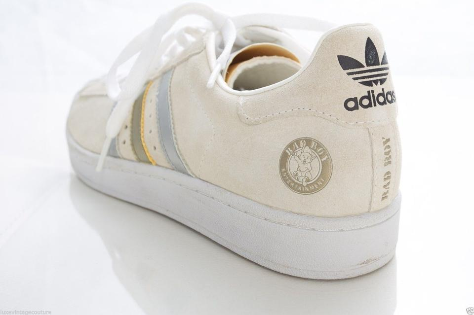White Ivory Cream Athletic Low Adidas Superstar 35th