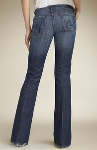Citizens of Humanity Older Style Ingrid In Pacific Full Flare Leg Jeans