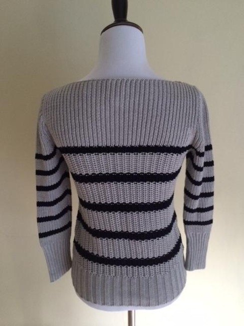 J.Crew Ripplestitch Stripe Sweater