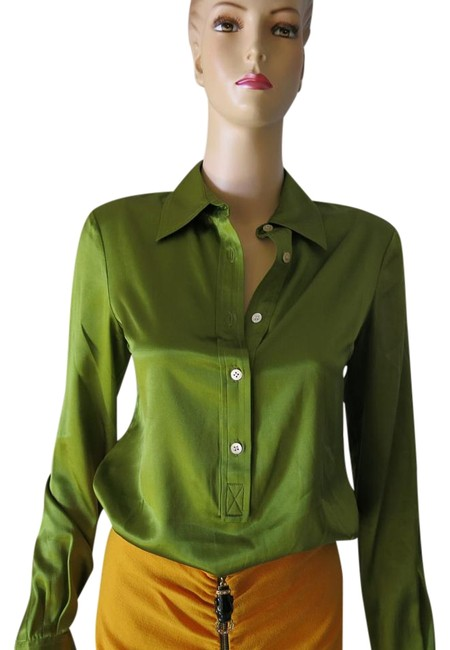 Preload https://item1.tradesy.com/images/green-tunic-size-4-s-1476960-0-2.jpg?width=400&height=650