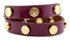 Tory Burch Tory Burch Double Wrap Logo Bracelet