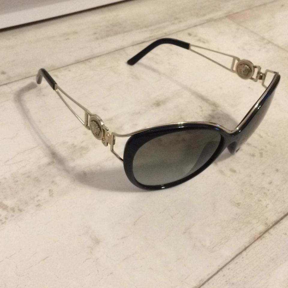 Versace Black And Gold Frames Sunglasses - Tradesy