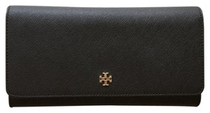 Tory Burch New Robinson Envelope Wallet in Black
