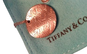 Tiffany & Co. Tiffany New York Pendant with 16 inch chain