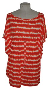 Nautica Tie-Dye Striped Caftan Cover Up