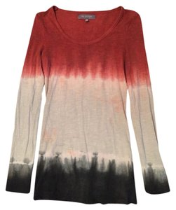 MM Couture Fitted Longsleeve T Shirt tie dye