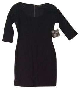 BeBop short dress Black on Tradesy