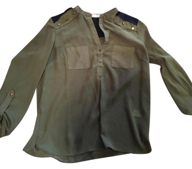 Codigo Top Olive green