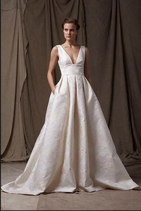 Lela Rose Customized 'the Mountain' Gown Wedding Dress