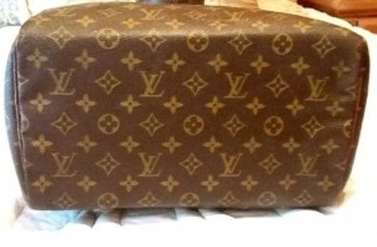 Louis Vuitton Vintage Malletier Satchel in Browns