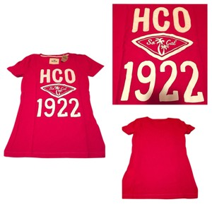 Hollister T Shirt Pink