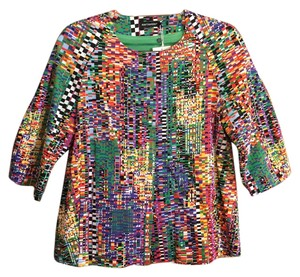 Marimekko Iconic Brilliant Colors Fun Print multi-color Blazer