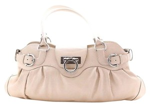 Salvatore Ferragamo Satchel in Ivory