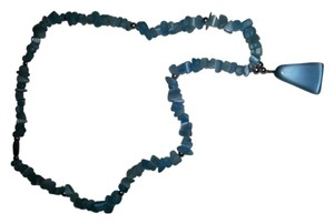 Other Shades of Blue Bead Necklace