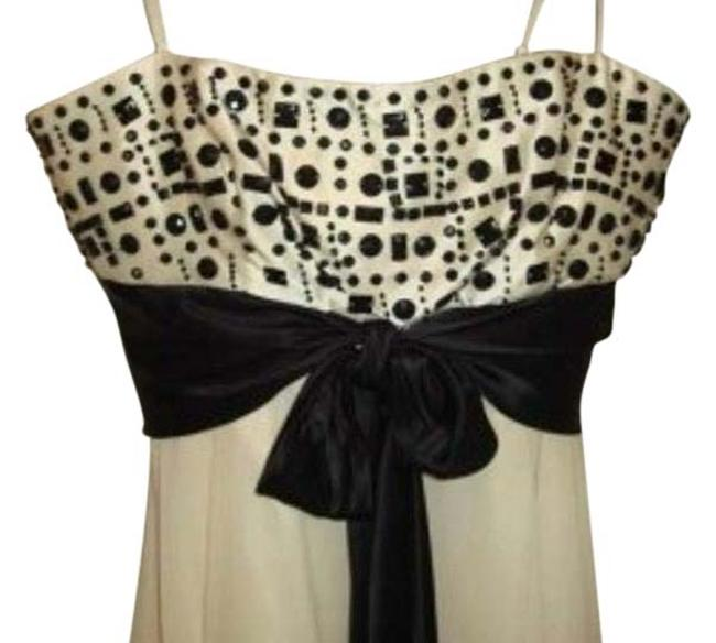 Preload https://item2.tradesy.com/images/bcbgmaxazria-cream-with-black-beading-and-sash-beaded-silk-above-knee-cocktail-dress-size-6-s-147726-0-3.jpg?width=400&height=650