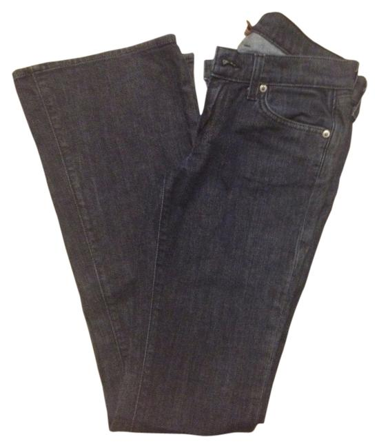 Item - Dark Rinse Relaxed Fit Jeans Size 27 (4, S)