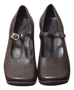 Kenneth Cole Reaction Mary Jane Brown Wedges