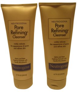 Neutrogena 2-Neutrogena Pore Refining Cleansers (200 ml/ 6.7 F. Oz. each) - [ Roxanne Anjou Closet ]