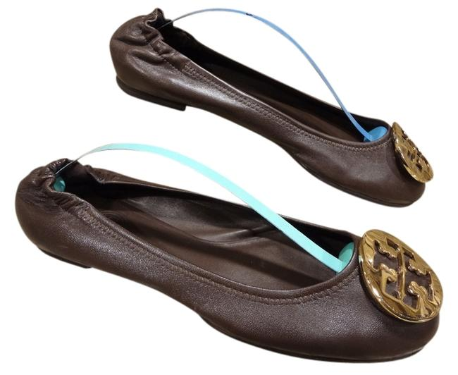 Item - Brown Ballet Flats Size US 7.5 Regular (M, B)