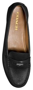 Coach Olympia Loafers Black Flats
