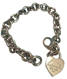 Tiffany & Co. RETURN TO TIFFANY(R) Heart Tag Charm Bracelet