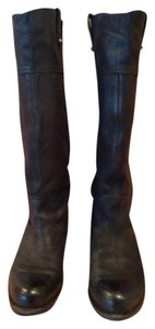 OTBT Riding Tall Leather Nordstrom Black Boots