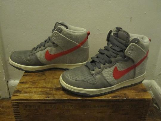 Nike cool grey and pink Athletic