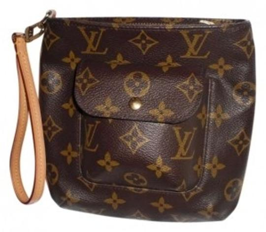 Preload https://item4.tradesy.com/images/louis-vuitton-classic-like-new-brown-leather-wristlet-147748-0-0.jpg?width=440&height=440