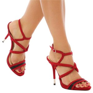 GX by Gwen Stefani Pump Stiletto Slingback Red Sandals
