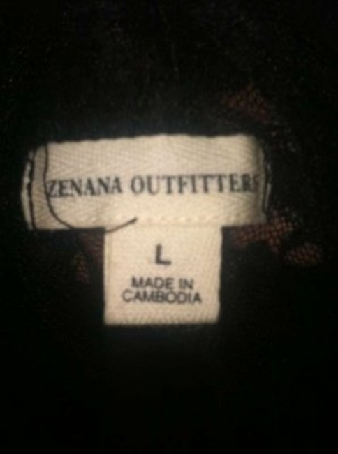 Zenna Outfitters Top Black