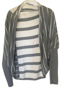 Ann Taylor LOFT Striped Comfortable Cardigan