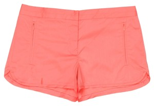 Tibi Summer Spring Mini/Short Shorts Coral