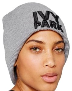 Ivy Park Ribbed Logo Beanie by Ivy Park