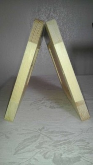 Michaels Natural Wood Frames (As Table Markers)