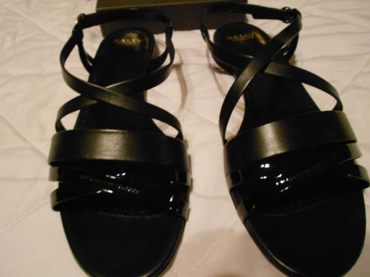 Bally Elegant Comfortable Versatile Made In Italy Black Sandals Image 1
