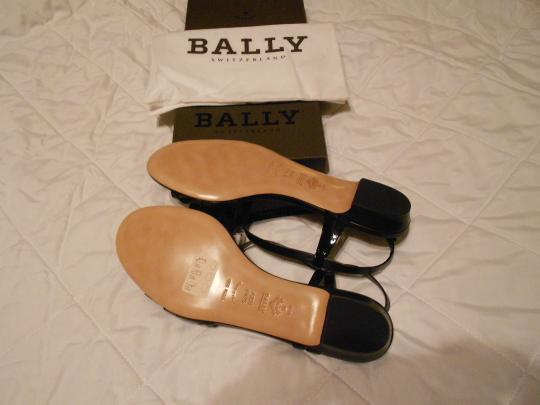 Bally Elegant Comfortable Versatile Made In Italy Black Sandals Image 6