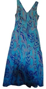 Blue floral Maxi Dress by Metro Style
