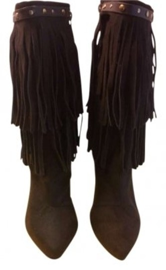 Anne Michelle Chocolate Brown Boots